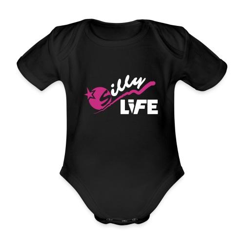 Silly Life Logo - Baby bio-rompertje met korte mouwen