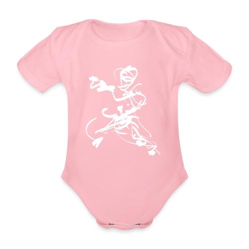 mantis style - Organic Short-sleeved Baby Bodysuit