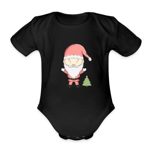 SA - Body orgánico de manga corta para bebé