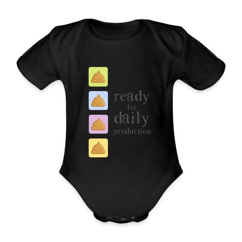 Ready for daily production - Body ecologico per neonato a manica corta