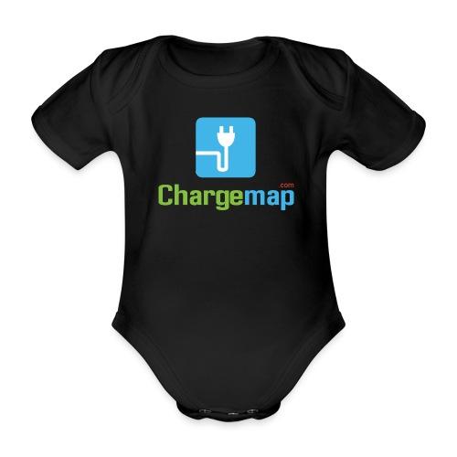 Logo ChargeMap - Organic Short-sleeved Baby Bodysuit