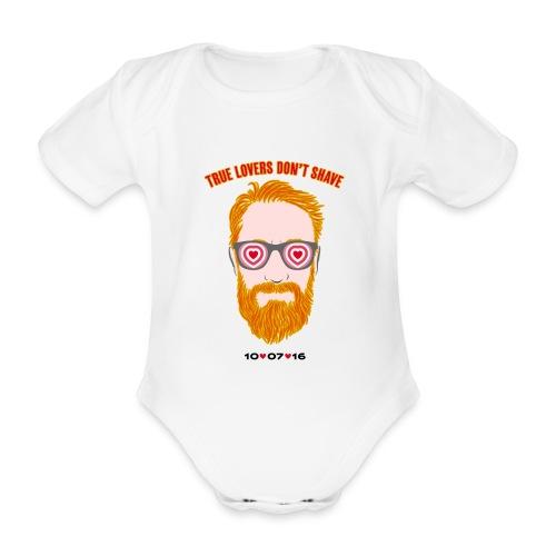 tru lovers - Body ecologico per neonato a manica corta
