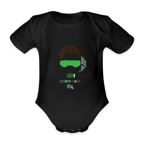 Lucio - Baby bio-rompertje met korte mouwen