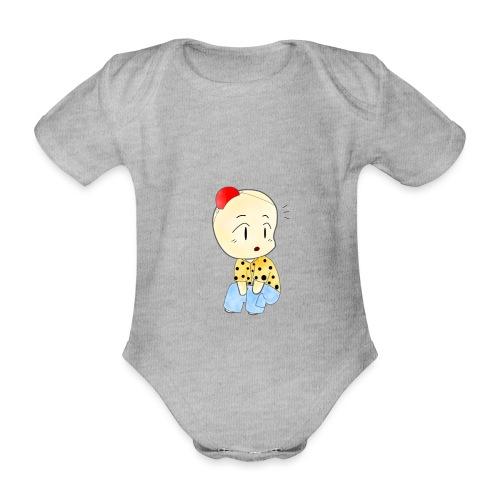 CLOWN RUNDO - Body ecologico per neonato a manica corta