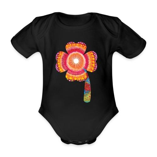 lucky - Organic Short-sleeved Baby Bodysuit