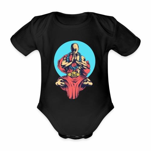 Inner Peace Inner Peace Gift Idea - Organic Short-sleeved Baby Bodysuit