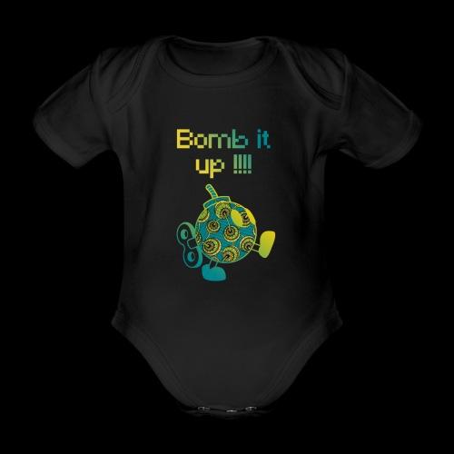 Bomb It Up : Green Power !!! - Body Bébé bio manches courtes