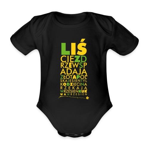 Wrzesień - Ekologiczne body niemowlęce z krótkim rękawem