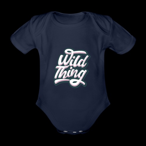 Wild Thing - Baby Bio-Kurzarm-Body