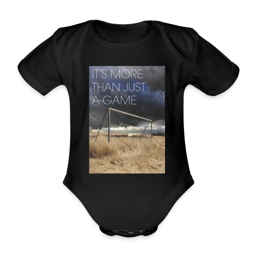 more - Organic Short-sleeved Baby Bodysuit