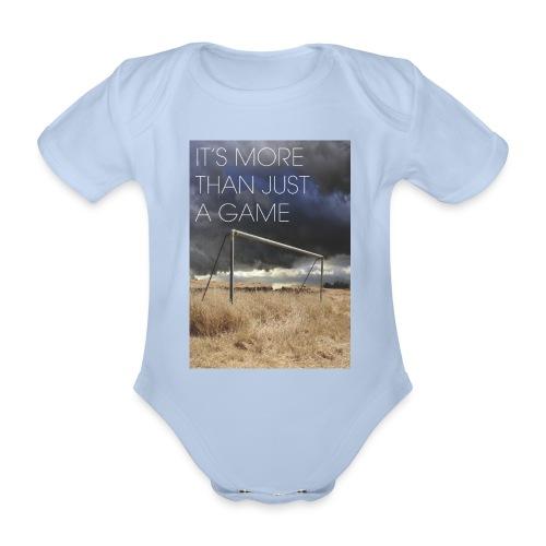more - Organic Short-sleeved Baby Bodysuit