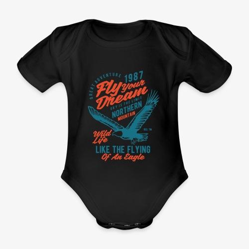 Stehlen Sie Ihren Traum - Baby Bio-Kurzarm-Body