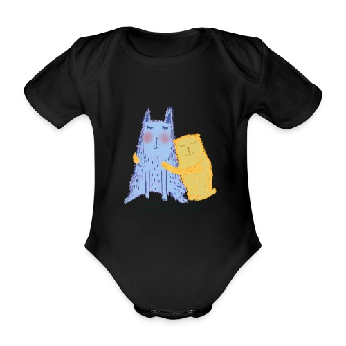 Admire each other - Organic Short-sleeved Baby Bodysuit