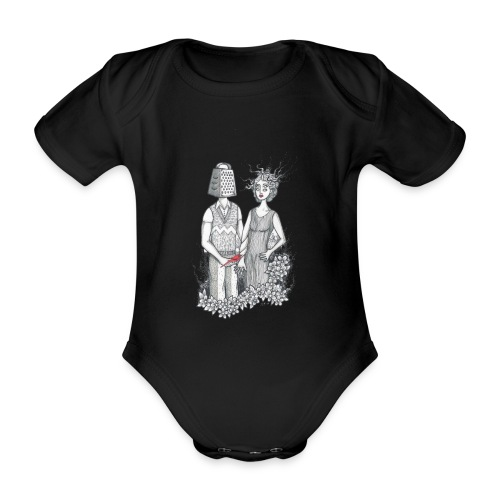 Kärleksfågel - Ekologisk kortärmad babybody