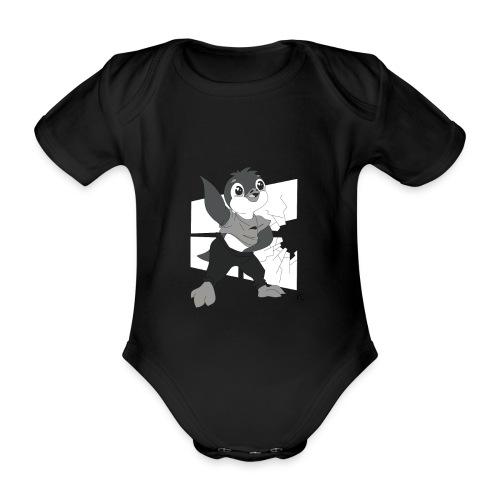 Le pingouin de Nice - Body Bébé bio manches courtes