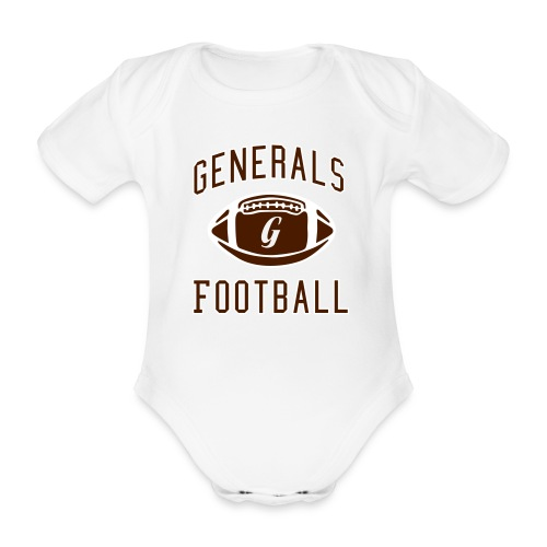 Generals Football Special G - Baby Bio-Kurzarm-Body