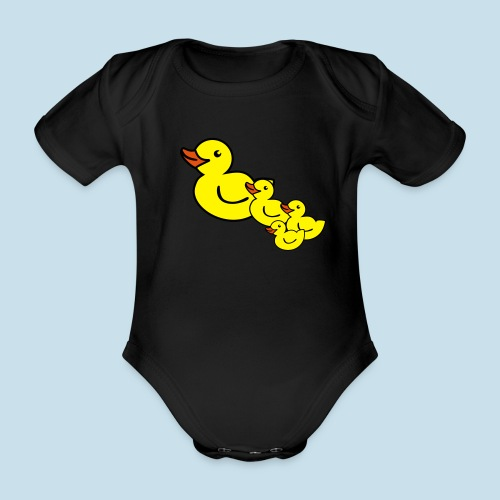 Ente - Baby Bio-Kurzarm-Body