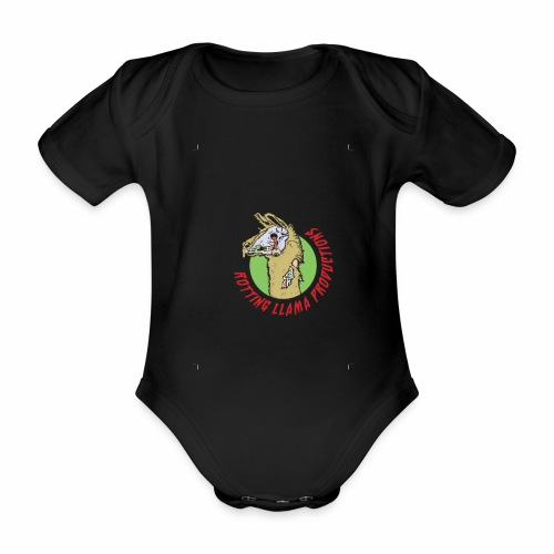 Rotting Llama Productions - Organic Short-sleeved Baby Bodysuit