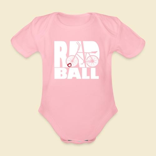 Radball | Typo - Baby Bio-Kurzarm-Body