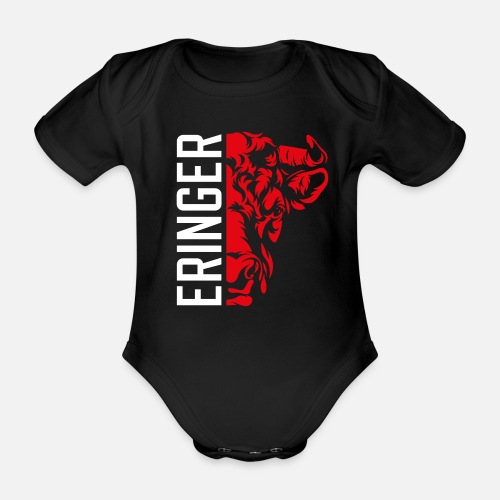 ERINGER WALLIS - Baby Bio-Kurzarm-Body