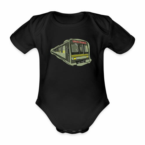 Urban convoy - Body ecologico per neonato a manica corta