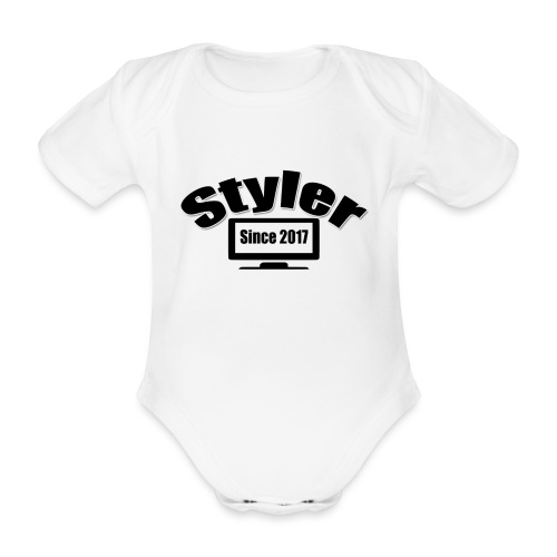 Styler Designer - Baby bio-rompertje met korte mouwen