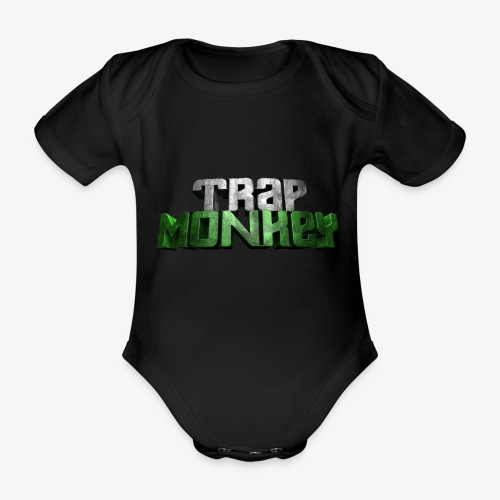 Trap Monkey 2 - Body Bébé bio manches courtes