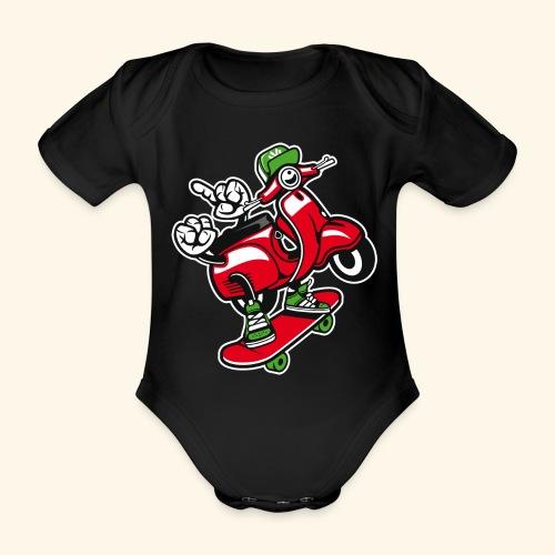Roller Skater - Baby Bio-Kurzarm-Body