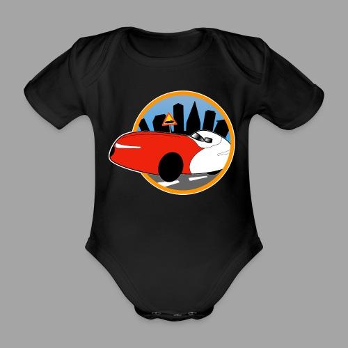Velomobile-skyline - Vauvan lyhythihainen luomu-body