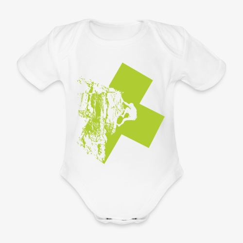 Escalando - Organic Short-sleeved Baby Bodysuit