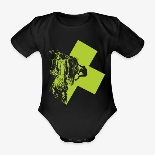 Climbing - Organic Short-sleeved Baby Bodysuit