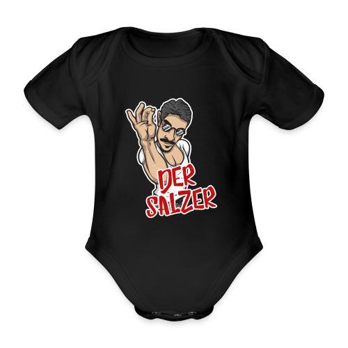 Der Salzer | Grillmeister Tshirt - Baby Bio-Kurzarm-Body
