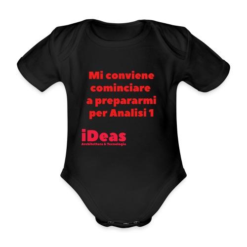 mi conv - Body ecologico per neonato a manica corta