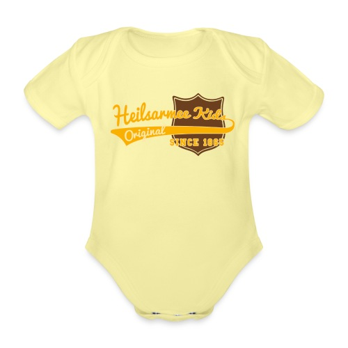 Kids Shirts Baseball - Baby Bio-Kurzarm-Body