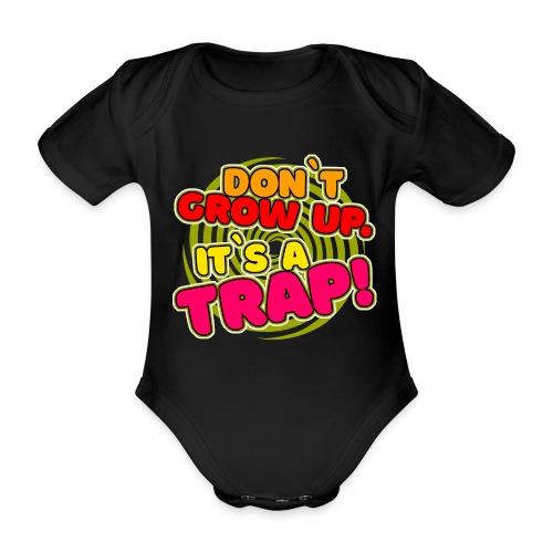 Es ist eine Falle! - Baby Bio-Kurzarm-Body