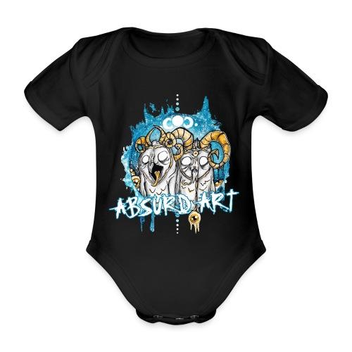 Karl & Bob von Absurd ART - Baby Bio-Kurzarm-Body