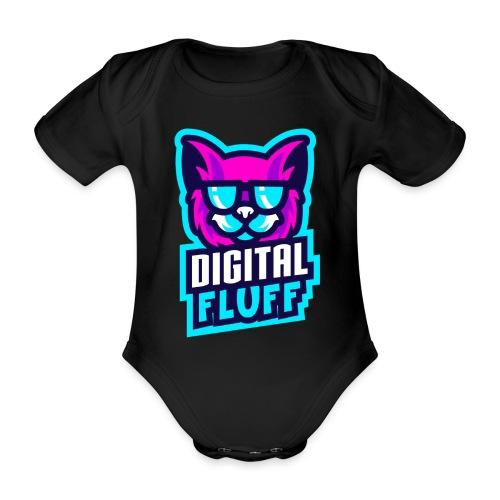 DigitalFluff - Organic Short-sleeved Baby Bodysuit