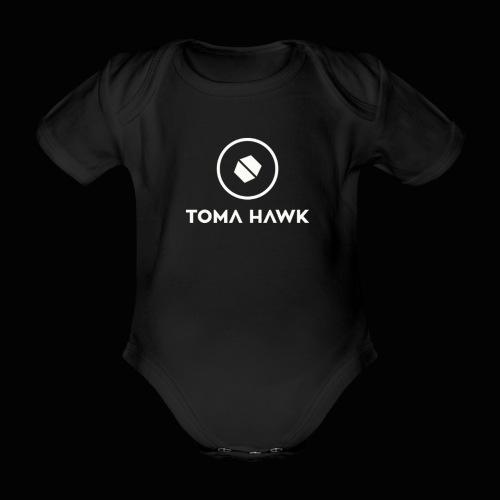 Toma Hawk Original White - Baby Bio-Kurzarm-Body