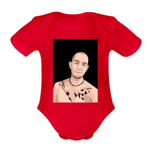 Justin Ahlberg Art - Ekologisk kortärmad babybody