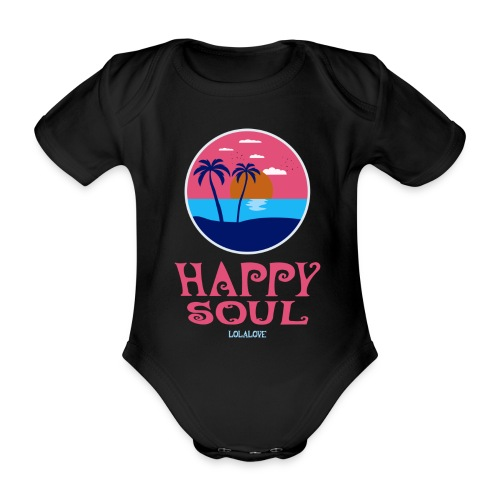 Happy Soul! - Baby Bio-Kurzarm-Body