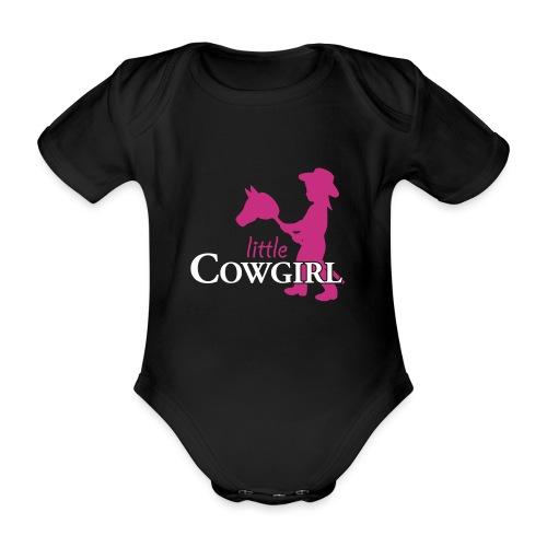 LittleCowgirl W - Baby Bio-Kurzarm-Body