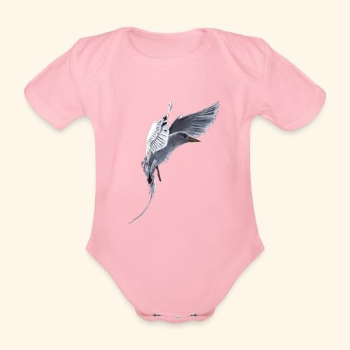Weißschwanz Tropenvogel - Baby Bio-Kurzarm-Body