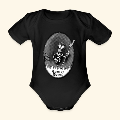 COME ON DOWN! - Organic Short-sleeved Baby Bodysuit