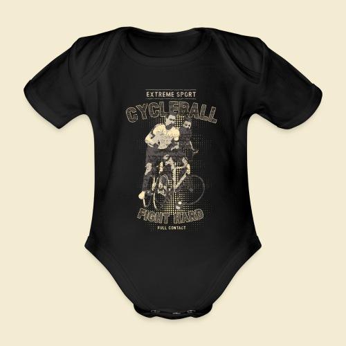 Radball | Fight Hard - Baby Bio-Kurzarm-Body