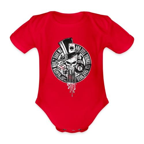 Kabes Heaven & Hell T-Shirt - Organic Short-sleeved Baby Bodysuit