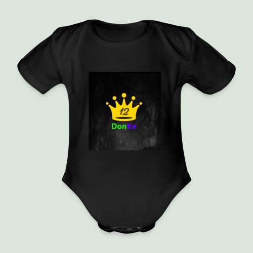 DonKe 12er Fashion - Baby Bio-Kurzarm-Body