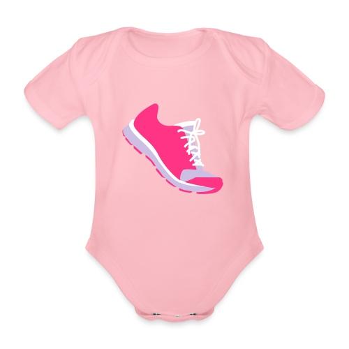 Laufschuh - Baby Bio-Kurzarm-Body