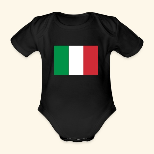 italy 162326 480 - Baby bio-rompertje met korte mouwen