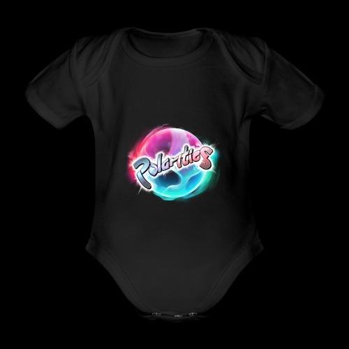 Polarities Logo - Organic Short-sleeved Baby Bodysuit