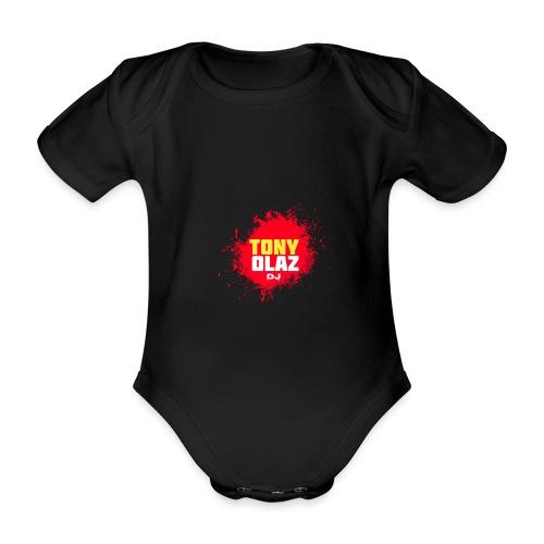 Marca Tony Olaz dj - Body orgánico de maga corta para bebé